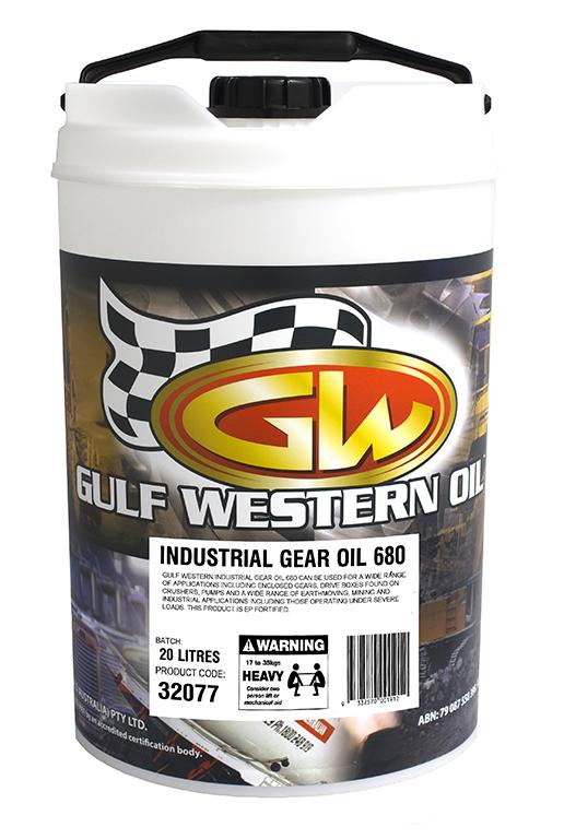 INDUSTRIAL GEAR OIL 680