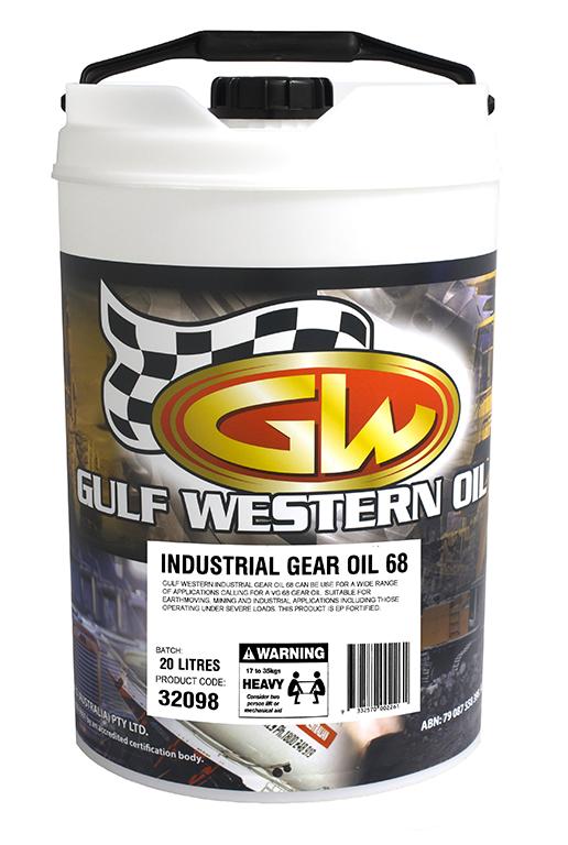 INDUSTRIAL GEAR OIL 68