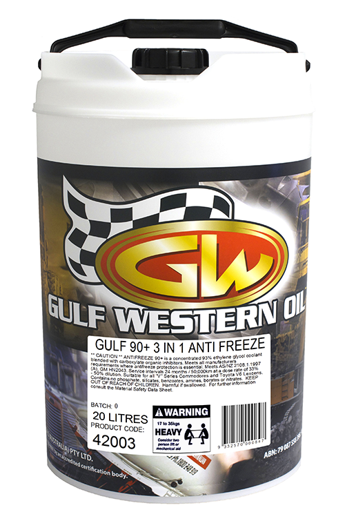 GULF 90 PLUS ANTI FREEZE